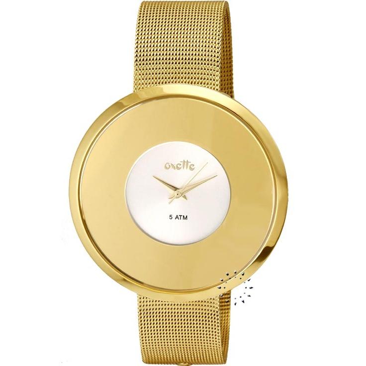 OXETTE Gold Mesh Stainless Steel Bracelet Μοντέλο: 11X05-00259 Η τιμή μας: 117€ http://www.oroloi.gr/product_info.php?products_id=20323