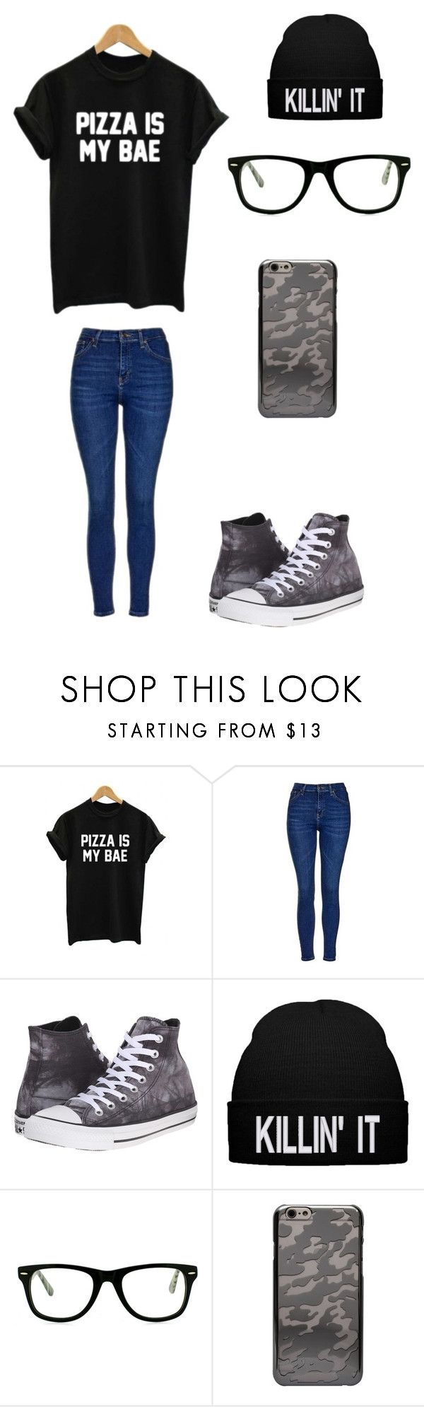 """""""Casual"""" by darksoul7 on Polyvore featuring WithChic, Topshop, Converse, Muse and CYLO"""