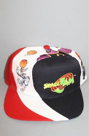 Vintage 1996 Space Jam snapback hat NWT by And Still x For All To Envy