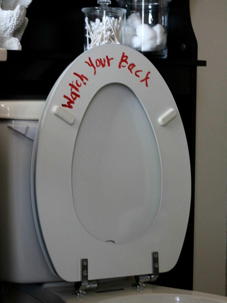 Halloween Dekorationen Badezimmer, um Ihre Gäste zu verscheuchen