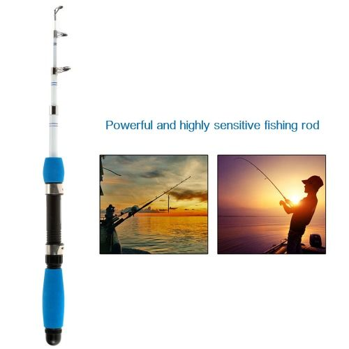 1.0M / 1.6M / 1.8M Superhard Ultralight Professional Carbon Telescopic Fishing Rods Powerful Casting Fishing Rod Highly Sensitive