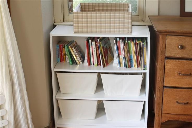 Undermount shelf bracket, repurposed to bookshelf divider