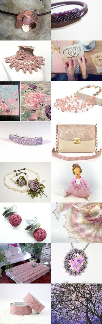 Pastel love by Andrea on Etsy--Pinned with TreasuryPin.com