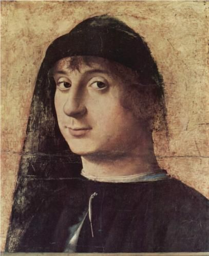 Portrait of a Man - Antonello da Messina