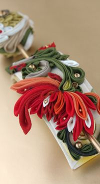 Fire Raijin-knob crafted (- Himeko -)Fire Raijin-knob crafted (- Himeko -)つまみ細工「火雷神(Ho no Ikaduti)」 This is a Japanese traditional crafts that use the silk, is a hair ornament and Accessories was designed flowers. ●silkartHIMEKO facebookpage https://ja-jp.facebook.com/himekosilkart ●silkart HIMEKO URL http://www.himeko-silkart.com/ #tsumami #japan #handmade #art #craft #pretty #cute #hairaccessories #DIY #flowers #silk #kanzashi