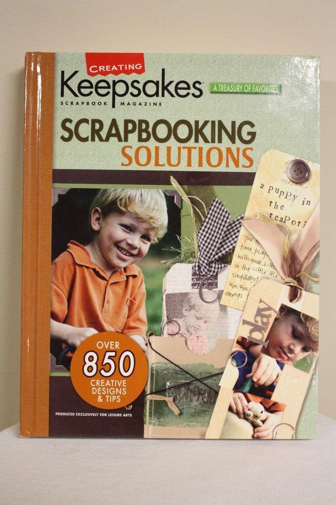 *NEW* Scrapbooking Solutions by Creating Keepsakes Scrapbook Magazine