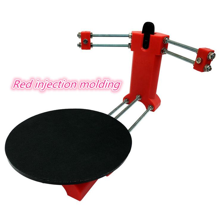 Best Price HE3D 3d scanner DIY kit, NEW red injection molding plastics,Reprap 3d Open source Portable 3d scanner for 3d printer #HE3D #scanner #injection #molding #plastics #Reprap #Open #source #Portable #printer