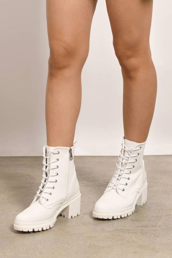combat boots, Combat boots heels