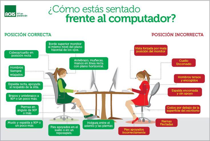 Consejos de #ergonomia en la #oficina. haraiberia.com