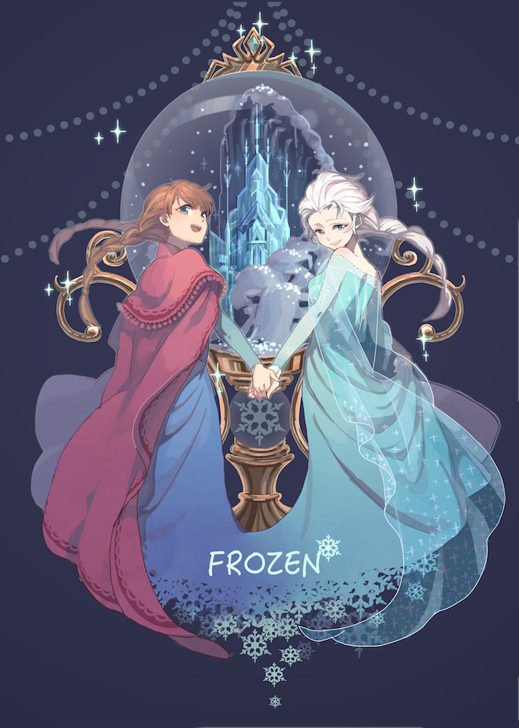 1000 ideas about frozen art on pinterest elsa disney - Princesse frozen ...