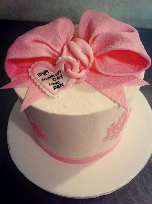Mothers Day Cake Design