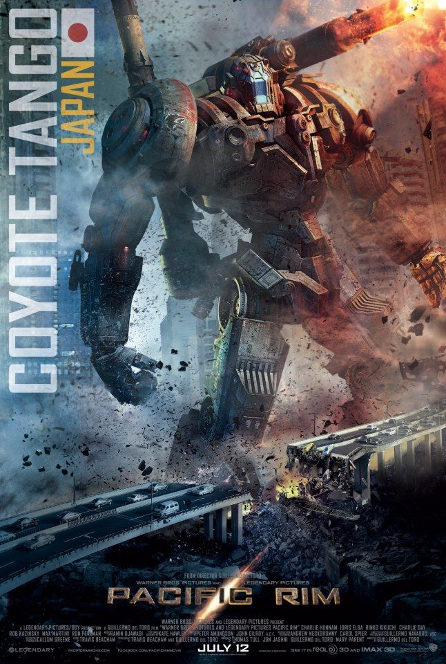 Pacific Rim has some interesting large mech styles, but very, very humanoid. Useful reference if we want to go down the Japanese Mecha style.