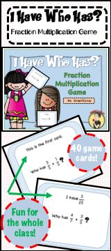 Fraction Multiplication Review made fun.  Easy no simplification problems to get your students started with fractions.