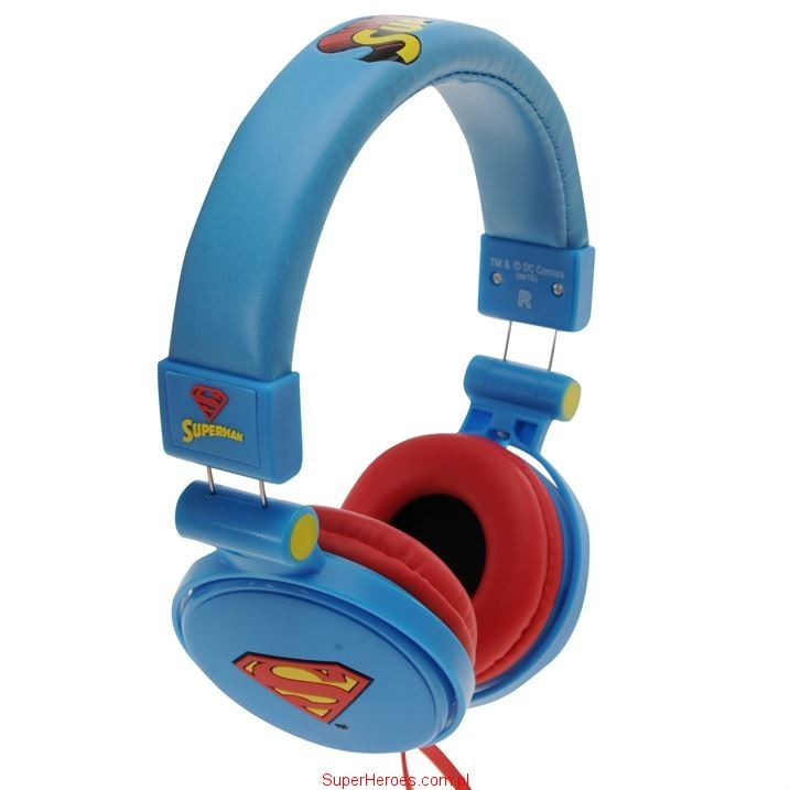 Słuchawki nauszne Superman