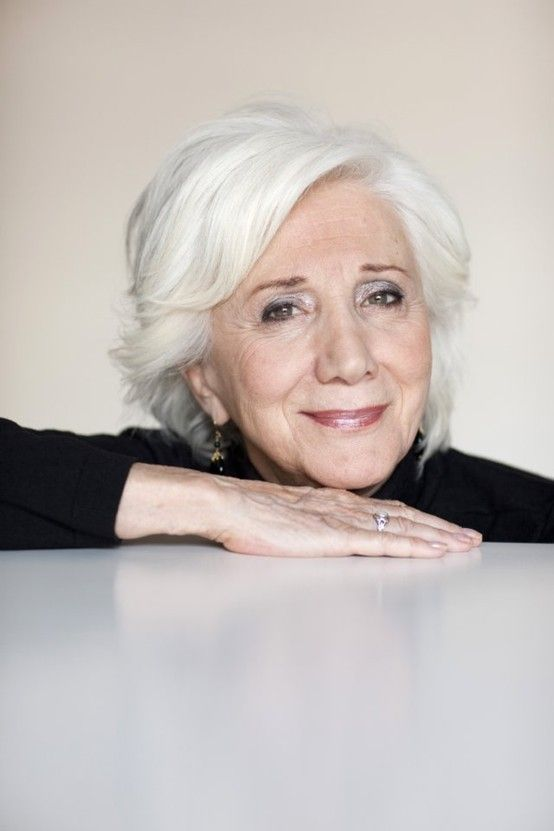 "Olympia Dukakis, 81 - I want to be her when I grow up.  I remember watching her in Steel Magnolias and even then thinking ""That is one beautiful lady"""