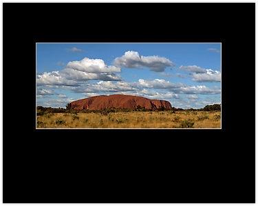 """""""Uluru Sky"""" Framed Prints by Cathy Walker   RedBubble"""