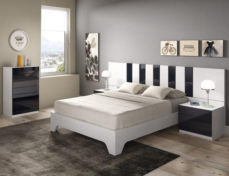 Dormitorio moderno (168 – D36) - Muebles CASANOVA