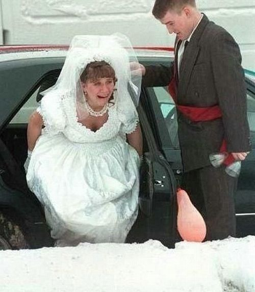 Funny Ugly Wedding Dresses: Funny Wedding Photos: 13 More Bad Big Day Disasters
