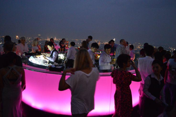 Sirocco Skybar, Bangkok, Thailand 2013