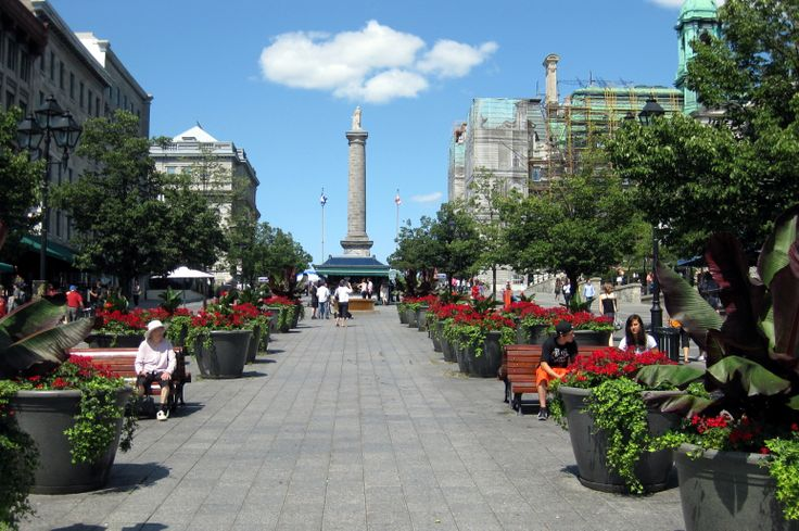 Montréal - Place Jacques Cartier