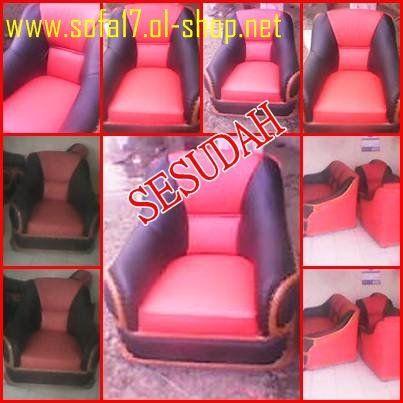 Hasil sofa yang sudah kami rubah modelnya