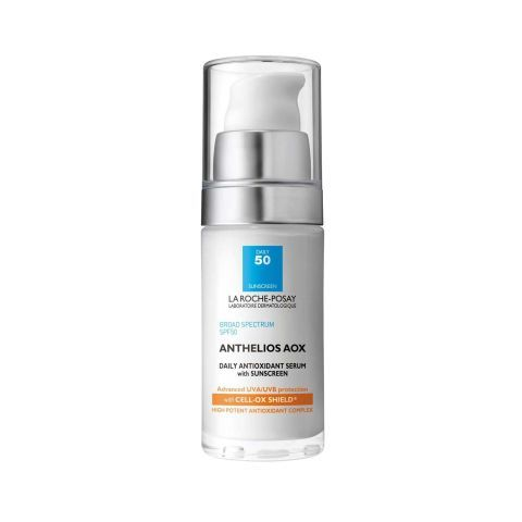 Anthelios Aox Daily Antioxidant Serum with Sunscreen: ELLE editors share the 11 best sunscreens that they actually use.