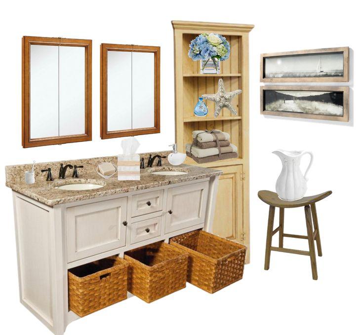 wonderful corner bathroom vanity | Our Pine Corner Cabinet Hutch looks wonderful with our ...