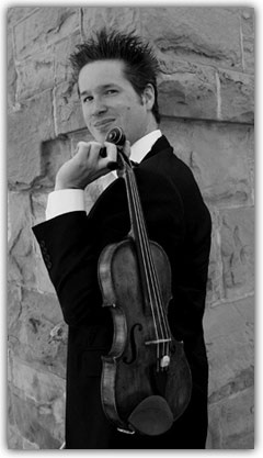 Donovan Seidle, Assistant Concertmaster: A native Calgarian, he has served as Assistant Concertmaster of the Calgary Philharmonic Orchestra since 2003.