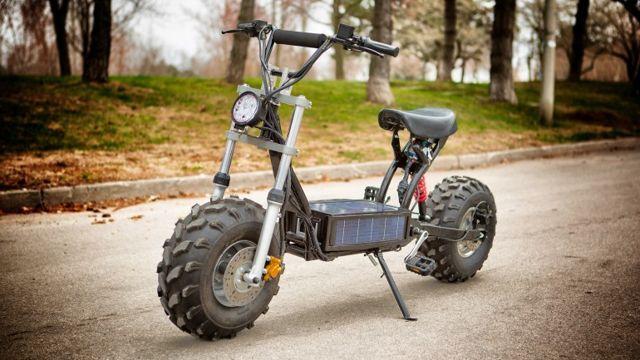 Daymak's The Beast Solar-Powered E-Bike