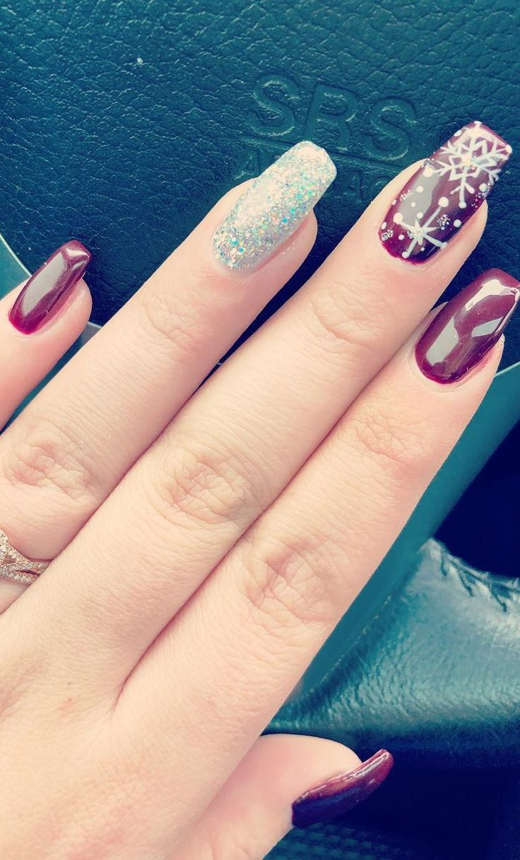 AMAZING CHRISTMAS NAILS DESIGNS For New Year PArty for 2019 Part 52