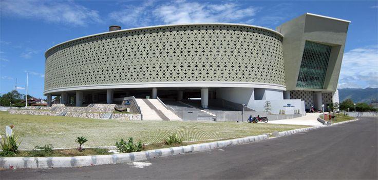 Tsunami Museum, Banda Aceh, Aceh, Indonesia #BlackTrail