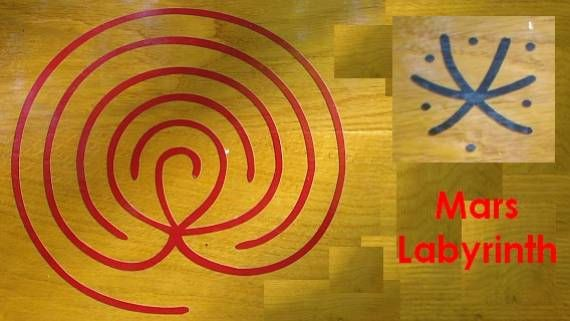 Celestial Labyrinth - Mars