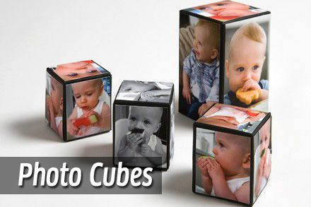 Photo Cubes - Mother's Day Craft
