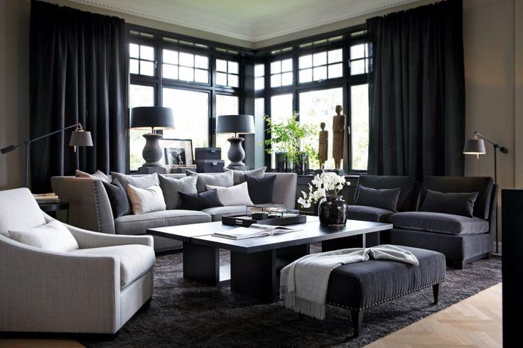 Slettvoll  Leopold sofa og Conrad stol
