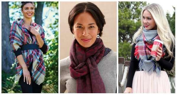 14 Façons différentes et originales de nouer une écharpe