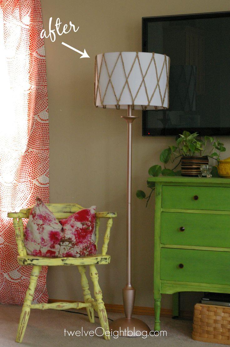 diy lamp makeover lamp floorlamp diy modern thriftstore floor