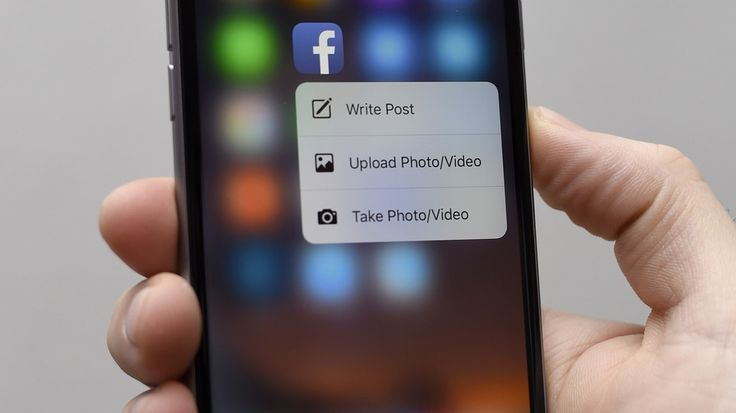 Fb-3d-touch