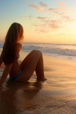 Beach picture.