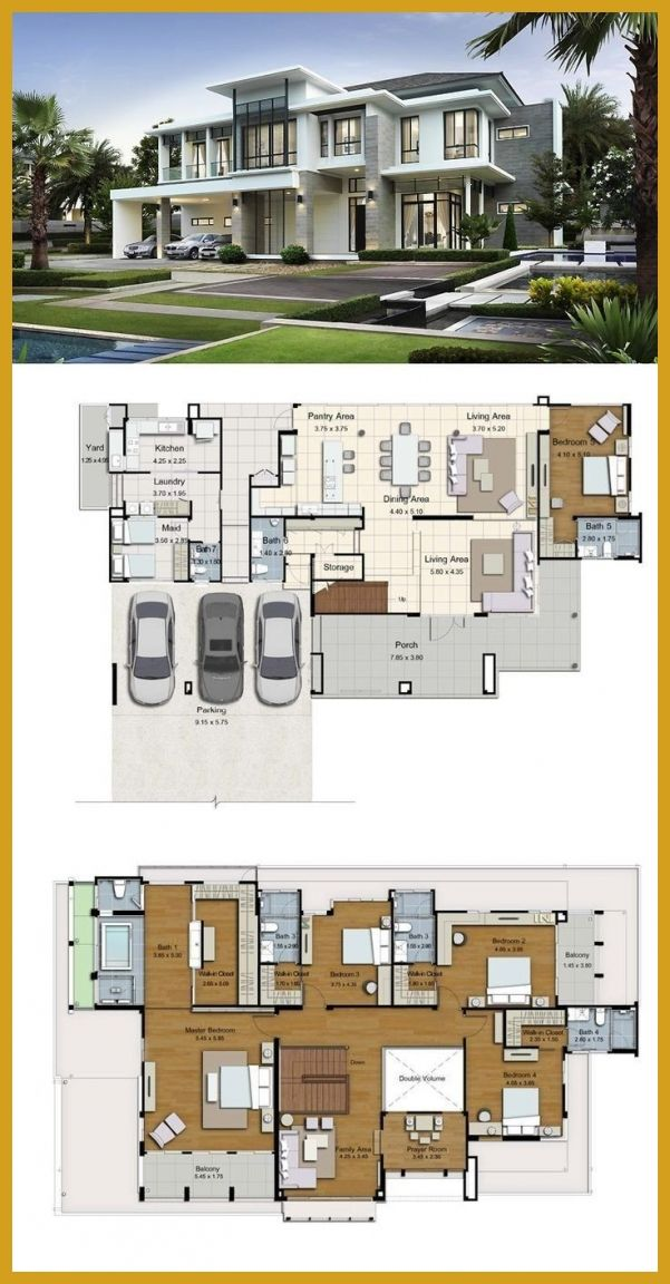 Modern House Plans 14450 Best Wohnen Images On Pinterest Big House Layouts Land And Follow Us Ma Modern House Floor Plans Luxury House Plans Big Modern Houses
