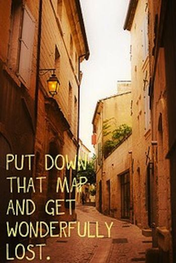 best way to find your way around an alien city/country and experience/see and learn new things!!