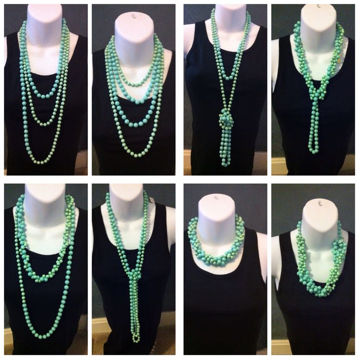 ways to wear seabreeze- Premier Designs Jewelry
