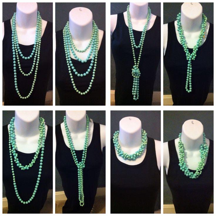 ways to wear seabreeze- Premier Designs Jewelry-premierbylaura