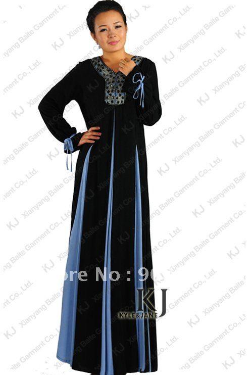 arabic fashion women abaya muslim clothing for women modal kaftan dubai styles $51.00
