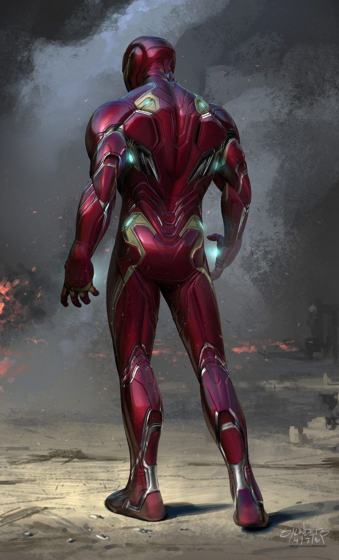 Avengers Infinity War Concept Art By Phil Saunders Concept Art World Iron Man Wallpaper Marvel Superhero Posters Iron Man Avengers Iron man wallpaper new suit