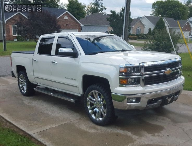 2014 Chevrolet Silverado 1500 Oe Performance 158 Rough Country Leveling Kit