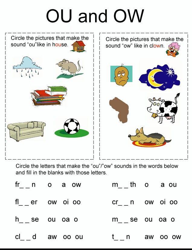 71 best Phonics worksheets images on Pinterest | Phonics worksheets ...