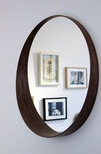 ikea stockholm 2013 collection : walnut mirror