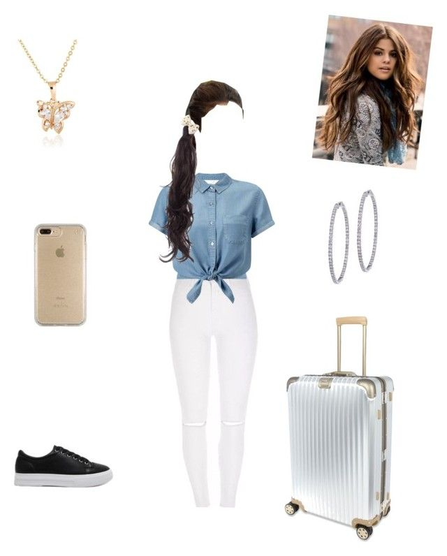 """Untitled #599"" by vgrenalde ❤ liked on Polyvore featuring Miss Selfridge, Rapunzel Of Sweden, BillyTheTree, Rimowa and Speck"