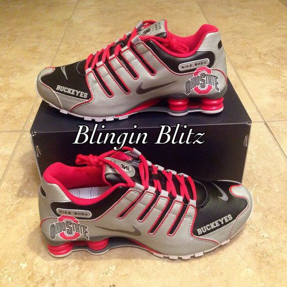 Unisex Ohio State Nike Shox NZ EU by BlinginBlitz on Etsy