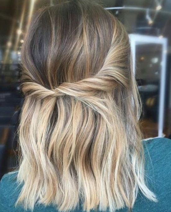 Half Up Twisted Hairstyles Ideas for Summer 2019